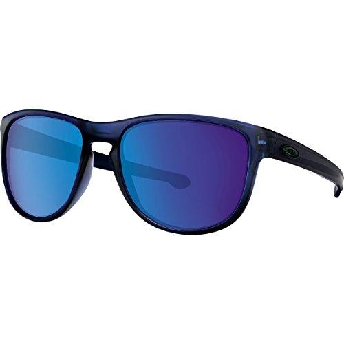 Oakley Men's Sliver R Non-Polarized Iridium Rectangular Sunglasses, Matte Translucent Blue, 57 - Women Best Oakley Sunglasses For