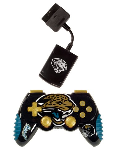 Playstation 2 Jacksonville Jaguars Wireless Game (Mad Catz Ps2 Wireless)