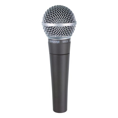 - Shure SM58-CN Cardioid Dynamic Vocal Microphone