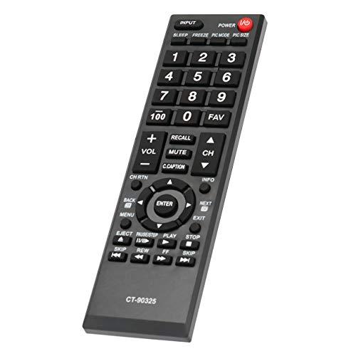 AIDITIYMI Generic Replace Remote Control CT-90325 fit for Toshiba 55S41U 32E200U 32C100U1/2 32DT1U 55HT1 55G310U TV