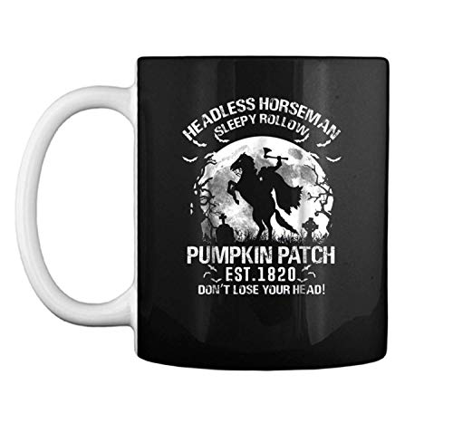 Headless horseman Halloween pumpkin ale 2018 Mug Coffee Mug (White, 11 oz) -