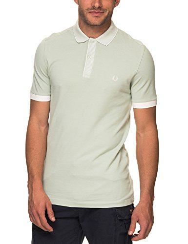 Shirt in Stripe Perry Fred Polo Pique Men's Collar Green crzY0wEq0