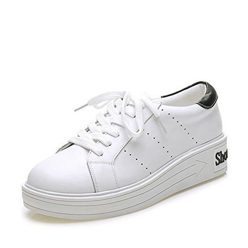Zapatos de las señoras blanca/Zapatos del deporte/Fondo plano zapatos/Zapatos del ocio Coreano A