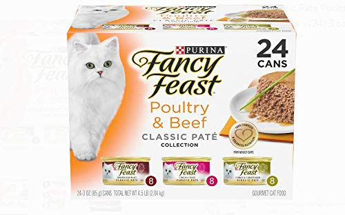 Classic Poultry and Beef Variety Wet Cat Food