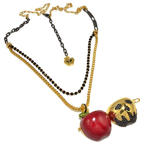 Disney Couture Snow White Apple Locket Necklace Disney Couture Set Necklace
