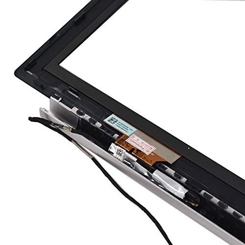 findmall New Digitizer Touch Screen Glass & Bezel for 11.6'' Asus VivoBook X202E Q200E by findmall (Image #6)