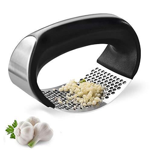 Home Stainless Steel Kitchen Mincer Tool Garlic Press Crusher Squeezer Masher