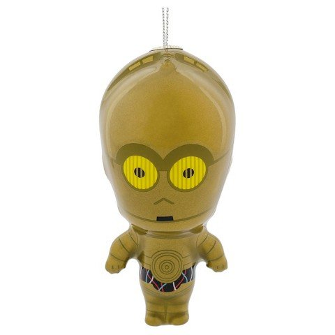 Disney Star Wars C-3PO Droid Kawaii Arts Decoupage Christmas Tree Ornament