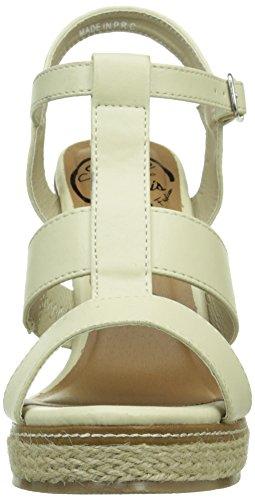 Initiale Gap - Sandalias de vestir Mujer Beige