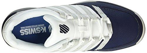K-Swiss BAXTER - Zapatillas Hombre Azul (navy/white/dawn Blue 474)
