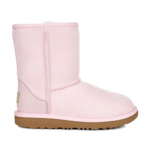 UGG Girls T Classic II Fashion Boot, Seashell Pink, 6 M US Toddler