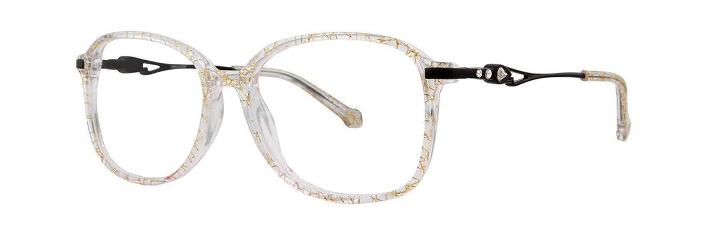 26 AM Gold Crystal Eyeglasses Timex 6