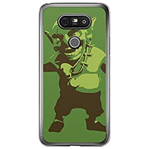 Loud Universe LG G5 Clash of Clans Goblin Printed Transparent Edge Case - Green