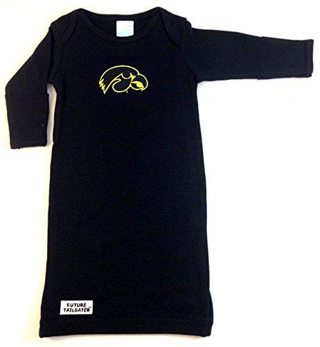 Apparel Layette (Iowa Hawkeyes Baby Layette Gown)