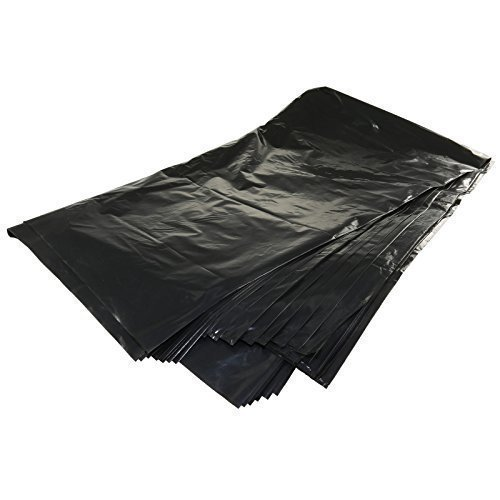 10 Extra Large Commercial Strong Heavy Duty Wheelie Bin Bag Liners Sacks Black First4Spares