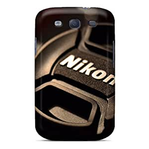 Durable Defender Case For Galaxy S3 Tpu Cover(creative Wallpaper Cap From Nikon)