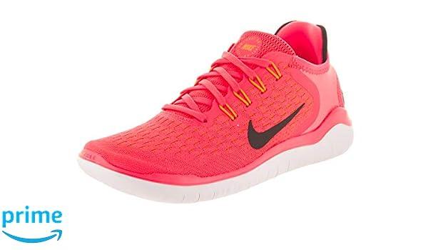 best service 321dc 46ca4 Amazon.com   Nike Women s Free Run 2018 Flash Crimson Black Orange Peel  White (7, Flash Crimson Black-Orange Peel-White)   Fashion Sneakers