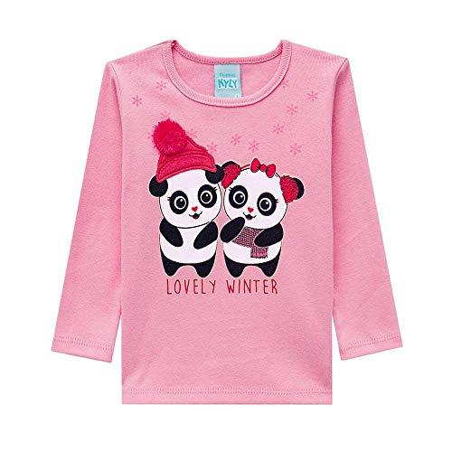 dc63c3389 Pijama Infantil Feminino Blusa + Calça Kyly 206781.40061.1