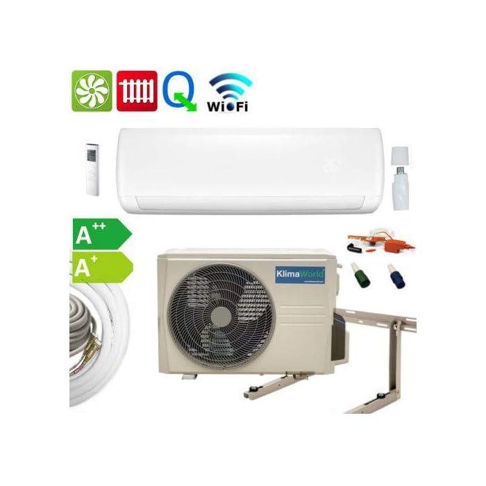 416EN6nEoCL La característica especial de este acondicionador de aire de sala inversor con acoplamiento rápido son los cierres de liberación rápida en la línea de refrigerante.