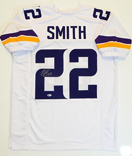 Harrison Smith Autographed White Pro Style Jersey - Beckett Authenticated (Autographed Authentic Style White Jersey)