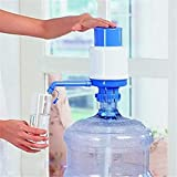 Hand Press Water Bottle Jug Manual Drinking Tap Spigot Fixtures Pumpt Dispenser
