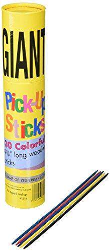 Pick Up Stix Game - Pressman Toys Giant Pick Up Sticks