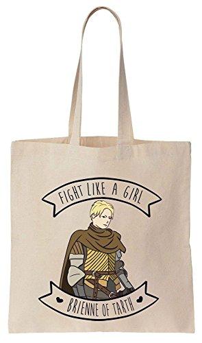 de de Tote Reutilizables Bag Brienne Fight Compras Algodón Like Bolsos qwUa8X4