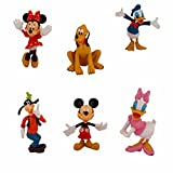 Rvold Disney Mickey Mouse Clubhouse Mini Figure Play Set of 4