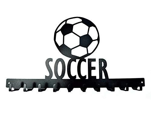 10 Hook Soccer Medals Rack