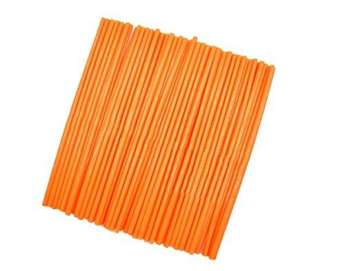 60f4cd6818889 72Pcs Wheel Rim Spoke Skins Covers Wrap Decor Protector Kit For Motorcycle  Motocross Dirt Bike (Orange)