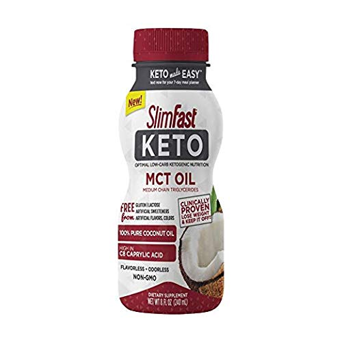 SlimFast Keto MCT Oil (Pack of 6)
