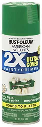 Rust-Oleum 327897-6PK American Accents Ultra Cover 2X Gloss, 6 Pack, Meadow Green