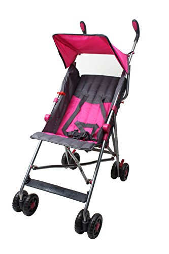 Wonder Buggy Taylor Two Position Stroller With Canopy (Pink) by Wonder Buggy