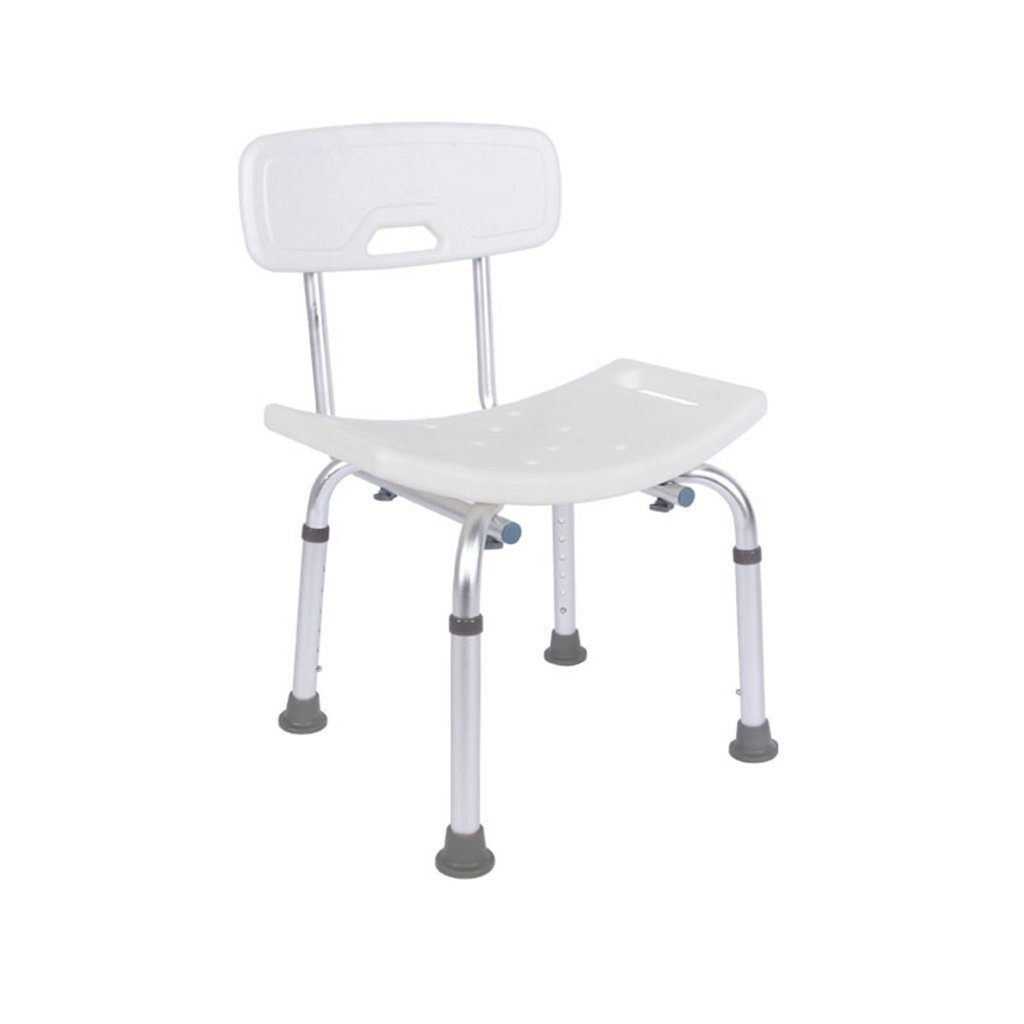 シャワーチェア、高さ調節可能ノンスリップバスルーム老人妊婦シャワーチェア B078YJJ2XT