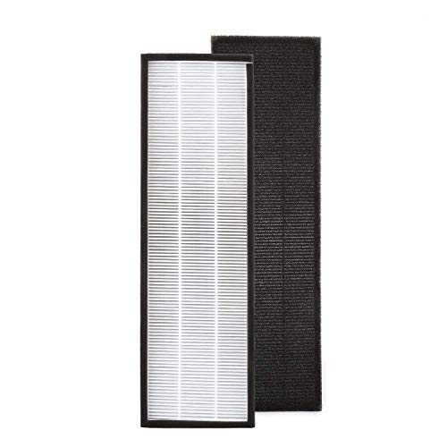 isinlive FLT4825 True HEPA Air Purifier Replacement Filter B Compatible with Guardian Technologies Models AC4825 AC4850PT AC4900CA PureGuardian AP2200CA and Black Decker BXAP148 (AC4300)