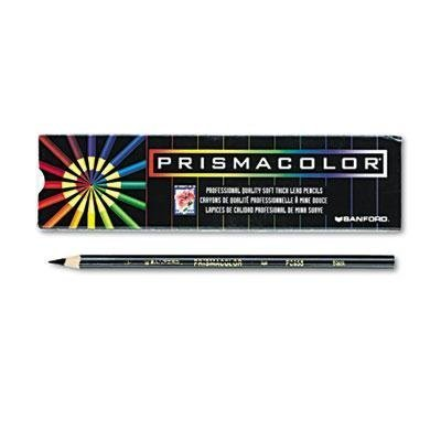 Prismacolor - 2 Pack - Premier Colored Pencil Black Lead/Barrel Dozen Product Category: Writing & Correction Supplies/Pencils by Original Equipment Manufacture by Original Equipment Manufacture