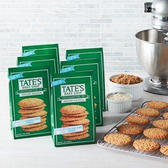 - Tate's Bake Shop 6 pack Coconut Crisp Cookies