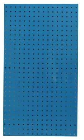 Square Hole Pegboard, 42-1/2x24, Blue, PK2