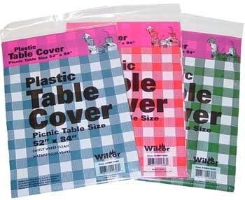 Beau ... Tablecloth Table Amazon Plastic Table Cover 52x84 12 Pc Set Picnic  Table Plastic Table Cover 52x84 12 Pc ...