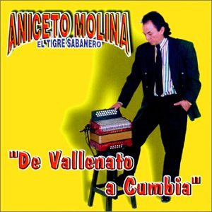 Vallenato Ranking integrated 1st place a Cumbia New product