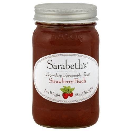 Sarabeth's Fruit Spread-Strawberry Peach-18 oz