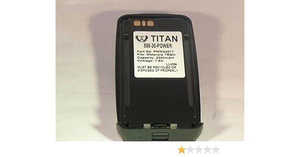 EBL PMNN4077 2500mAh Li-ion Battery For Motorola XPR6100 XPR6350 XPR6500 XPR6300