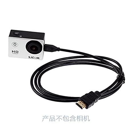 Topjoy HDMI micro / cable de HDMI para SJCAM SJ4000 SJ4000 SJ5000 ...
