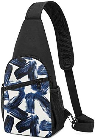 ボディ肩掛け 斜め掛け 幾何学図形 ショルダーバッグ ワンショルダーバッグ メンズ 軽量 大容量 多機能レジャーバックパック