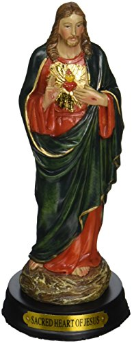 5-Inch Sacred Heart of Jesus Holy Religious Figurine for sale  Delivered anywhere in USA