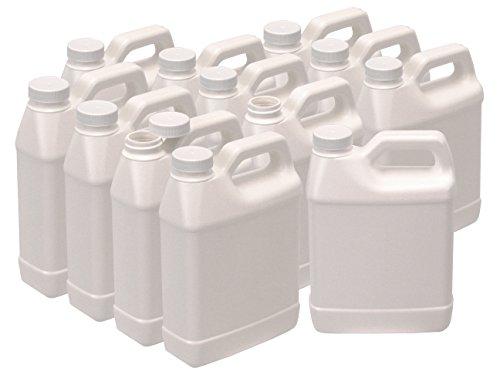 White 32oz (1qt, quart) F-Style Jug Container (12)