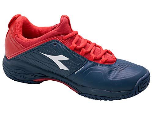 Tennis Chaussures Ag Foncé Fly Bleu Hommes Terrain De Diadora Blushield Tout Chaussure 45 Speed Rouge Iw0WqX