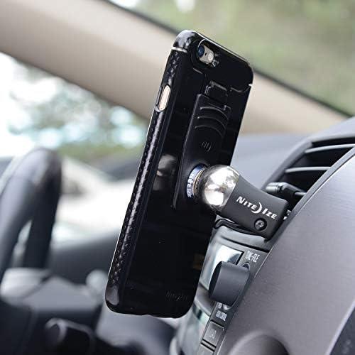 Nite Ize Original Steelie Vent Mount Kit- Soporte magnético de ventilación para automóviles para teléfonos inteligentes
