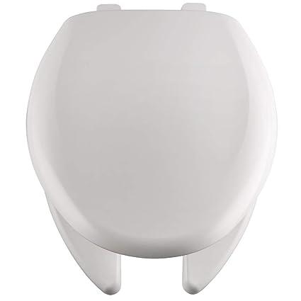 Excellent Bemis 1250Tta 000 White Elongated Commercial Plastic Open Creativecarmelina Interior Chair Design Creativecarmelinacom