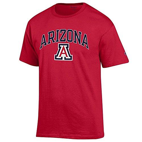 Arizona Wildcats T-shirts (Arizona Wildcats TShirt Varsity Red - XXL)